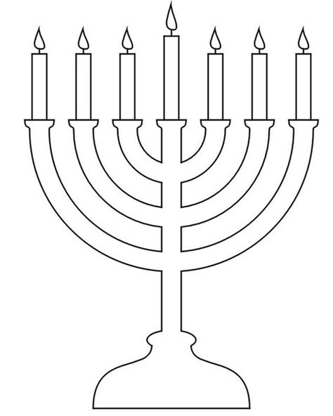 hanukkah coloring pages menorahs this is not the