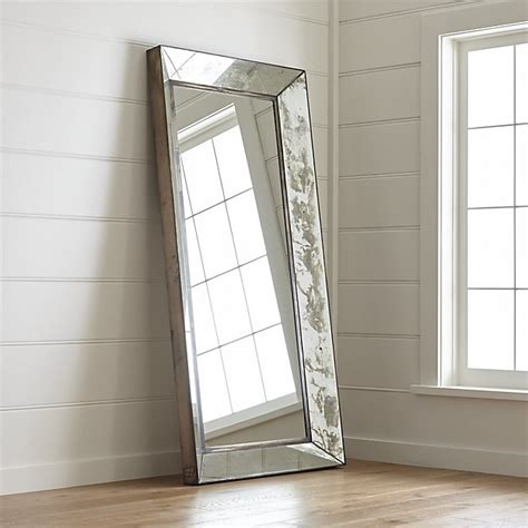 dubois floor mirror crate and barrel