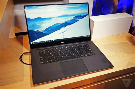 Laptop Dell Juni dell zeigt xps 15 mit fast randlosem display