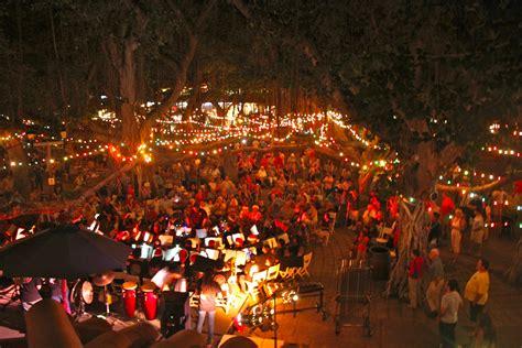 lighting of the banyan tree lahaina now 18th annual lighting of the lahaina