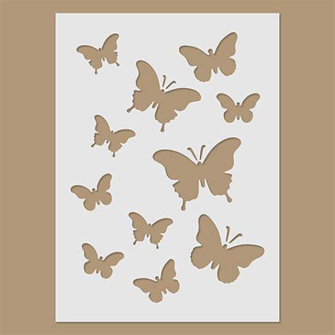 butterfly painting template butterflies stencil