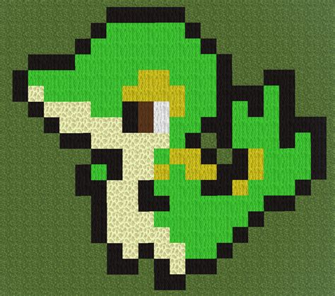 minecraft pixel art pokemon template images