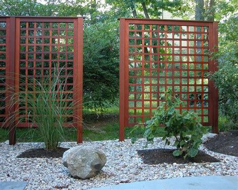 Garden Fence Screening Ideas Wonderful Lattice Screen Designs Rock Garden Asian Landscape Lattice Screen Instead Of Fence