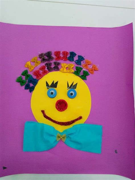 clown template preschool 1000 ideas about clown crafts on circus