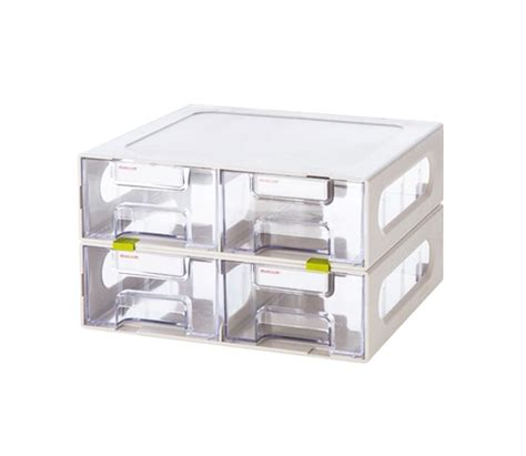 room multi box large 4 drawers plastic tool box