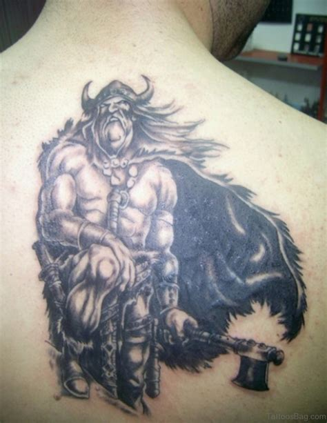 viking warrior tattoos 59 alluring viking tattoos for back