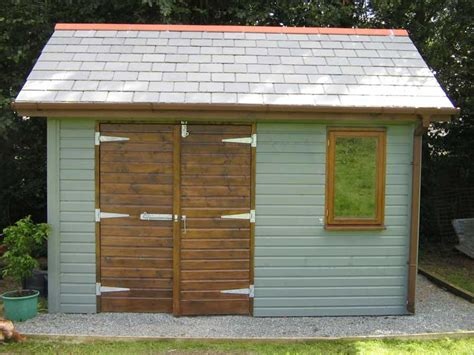 Build Your Own Wood Shed by Build Your Own Set Of Replacement Wooden Shed Doors Using