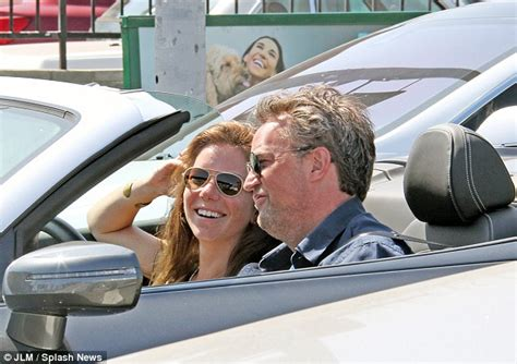 matthew perry cars nice car shame about the bald patch matthew perry