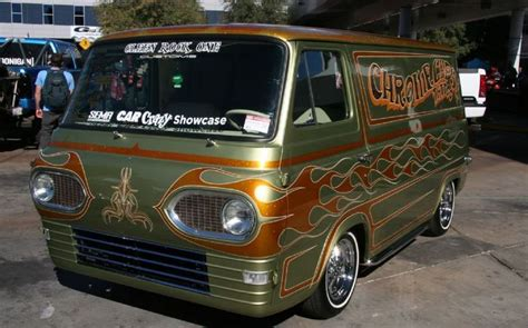chrome gypsy tattoo chrome 1964 ford econoline custom vans