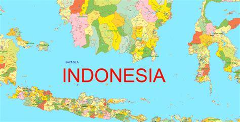 tutorial adobe illustrator indonesia pdf map indonesia printable admin exact vector map full
