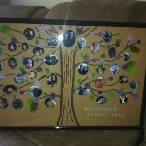 The Family Tree I Made For Grandma Sals Th  Ee  Birthday Ee