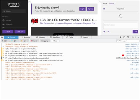 better twitch tv twitch how to send in console output