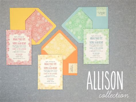 diy floral wedding invitation suite perfect  summer