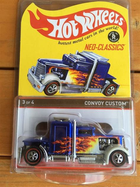 Hw Convoy Custom Hotwheels Miniatur Diecast 1 86 best wheels redline club rlc images on