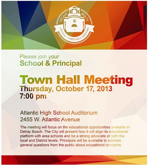 Town Hall Meetings Quotes Quotesgram Town Invite Template