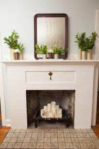 Decor For Fireplace Ideas To Decorate The Fireplace In Summer Room