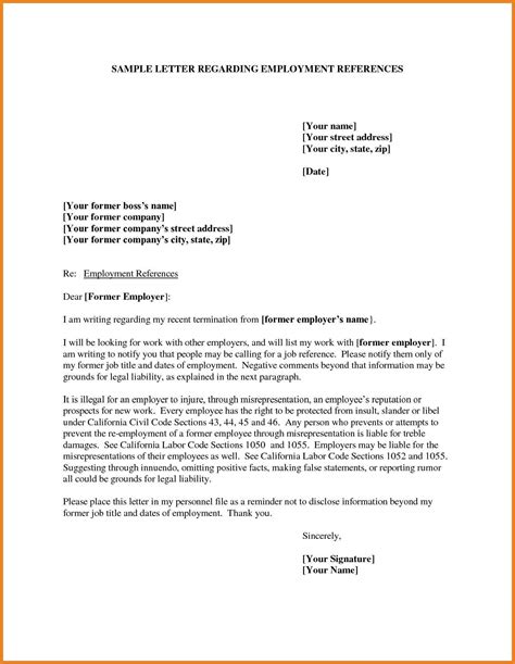 how to write a professional reference letter word format