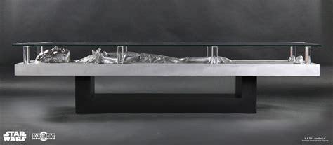 wars coffee table han carbonite coffee table regal