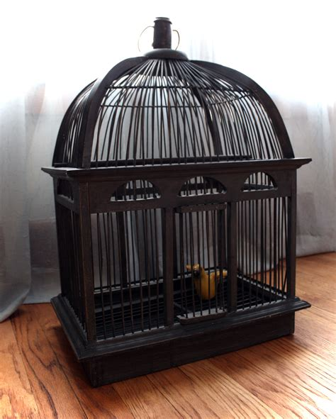 antique bird cages for sale with stand