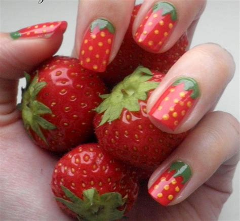 Nägel Lackieren Schnell Und Einfach by 17 Fruit Nails That Will Look Great This Summer