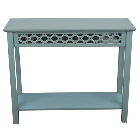 Blue Entryway Table Blue Entryway Table