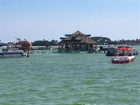 crab island boat rental prices large pontoon so clean and great radio picture of