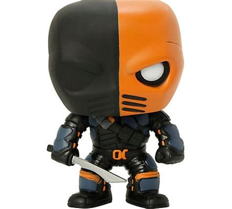 Funko Pop Deathstroke Dc funko pop arrow deathstroke review fortress of solitude