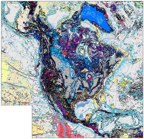 geological map of america database of the geologic map of america usgs