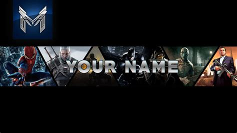 Gaming Wallpaper For Youtube Channel 84 Images Free Gaming Banner Template
