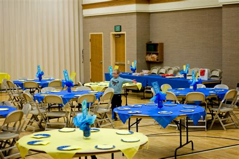 themes for blue and gold banquet jengerbread creations blue and gold banquet theme studio c
