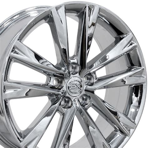 chrome lexus rims 19 quot chrome rx350 f sport wheels 19x7 5 set of 4 rims fit