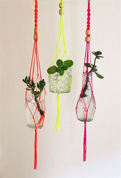 Diy Macrame Plant Holder - plant holder macrame diy search to try one day