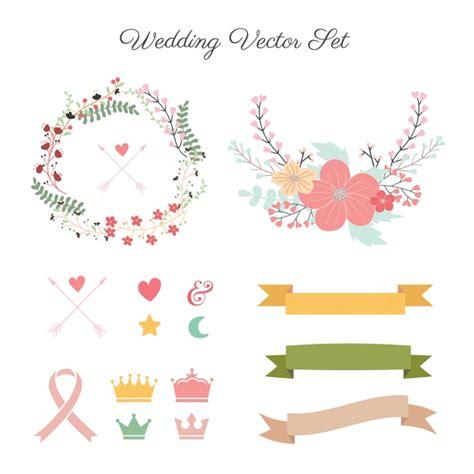 cute wedding decoration vector free download wedding decoration collection vector free download