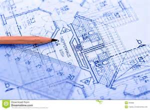 blueprint program pencil on blueprint royalty free stock image image 595986
