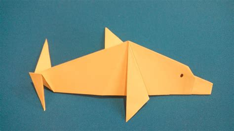How To Make A Dolphin Out Of Paper - 馂駙鸶鸪鸢鸺鸶 鸫鸬鸹駥駝鸶鸾 origami dolphin 鎶樼焊娴疯睔