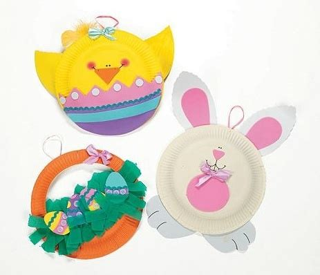 Paper Plate Easter Crafts - paper plate easter crafts for the classroom