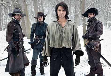 Three Musketeer the musketeers tom burke santiago cabrera and howard charles collider