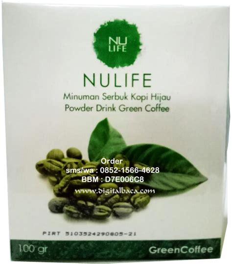 Green Coffee Nulife Original Pelangsing Kopi Hijau green coffee nulife kopi hijau penurun berat badan quot terbukti aman nyaman quot digital baca