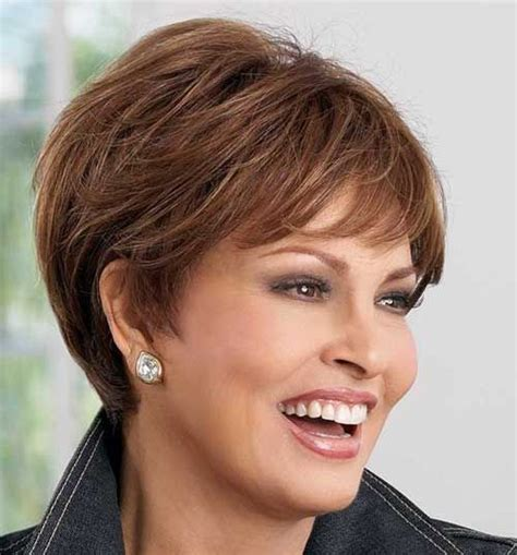 best haircuts for thick hair grey over fifty round face 20 best short hair for women over 50 short hair short