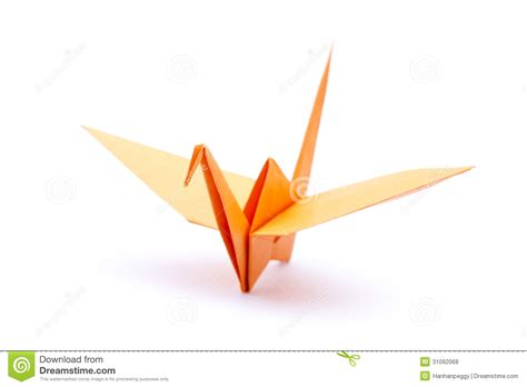 White Origami - origami crane stock photo image of wing folded japanese