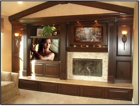 Fireplace And Center by Entertainment Center Appleton Renovations Part 2