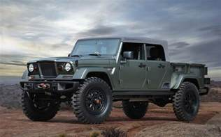 Jeep Truck News Jeep Confirms Four Door Wrangler Truck In The Works