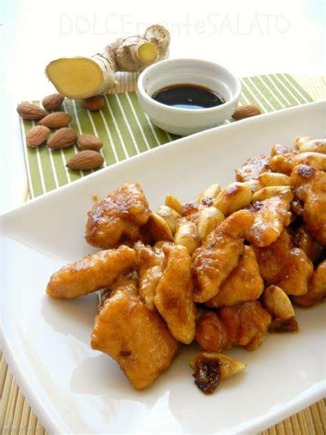 cucina cinese pollo alle mandorle ricetta pollo alle mandorle