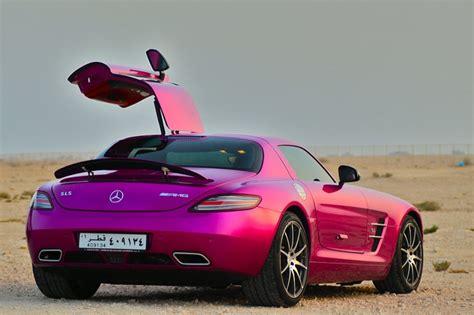 pink mercedes mercedes sls amg pink cars pinterest lady cars
