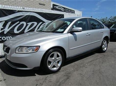 2008 volvo s40 2008 volvo s40 2 4i montreal used car for sale