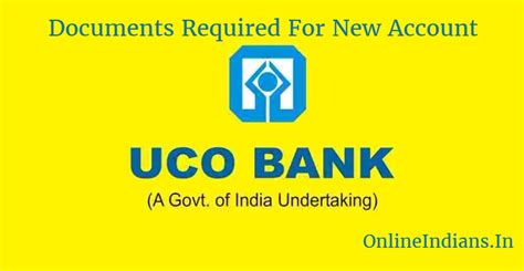 Indian Bank Account Opening Documents Required