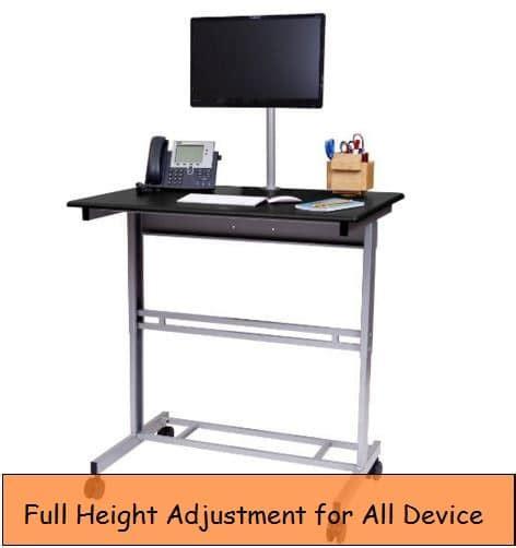 best height adjustable desk best height adjustable desk for devices macbook imac pc