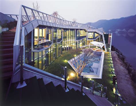 modern home design korea architectural island house in south korea idesignarch