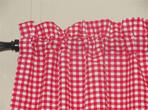 red gingham kitchen curtains 40 red gingham cafe curtains kitchen dining decor