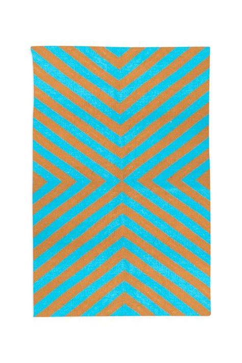 orange and white striped rug blue striped rug 8 x10 cotton
